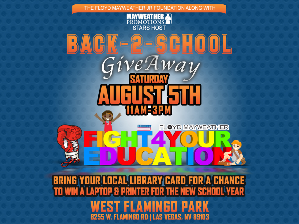 5th Annual Back-2-School Supply Giveaway | The Floyd